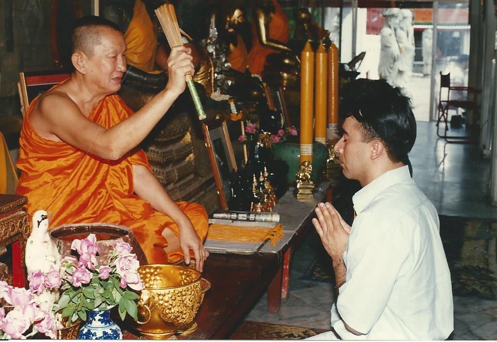 Iniciação de Joacir na Tailândia início dos anos 90
