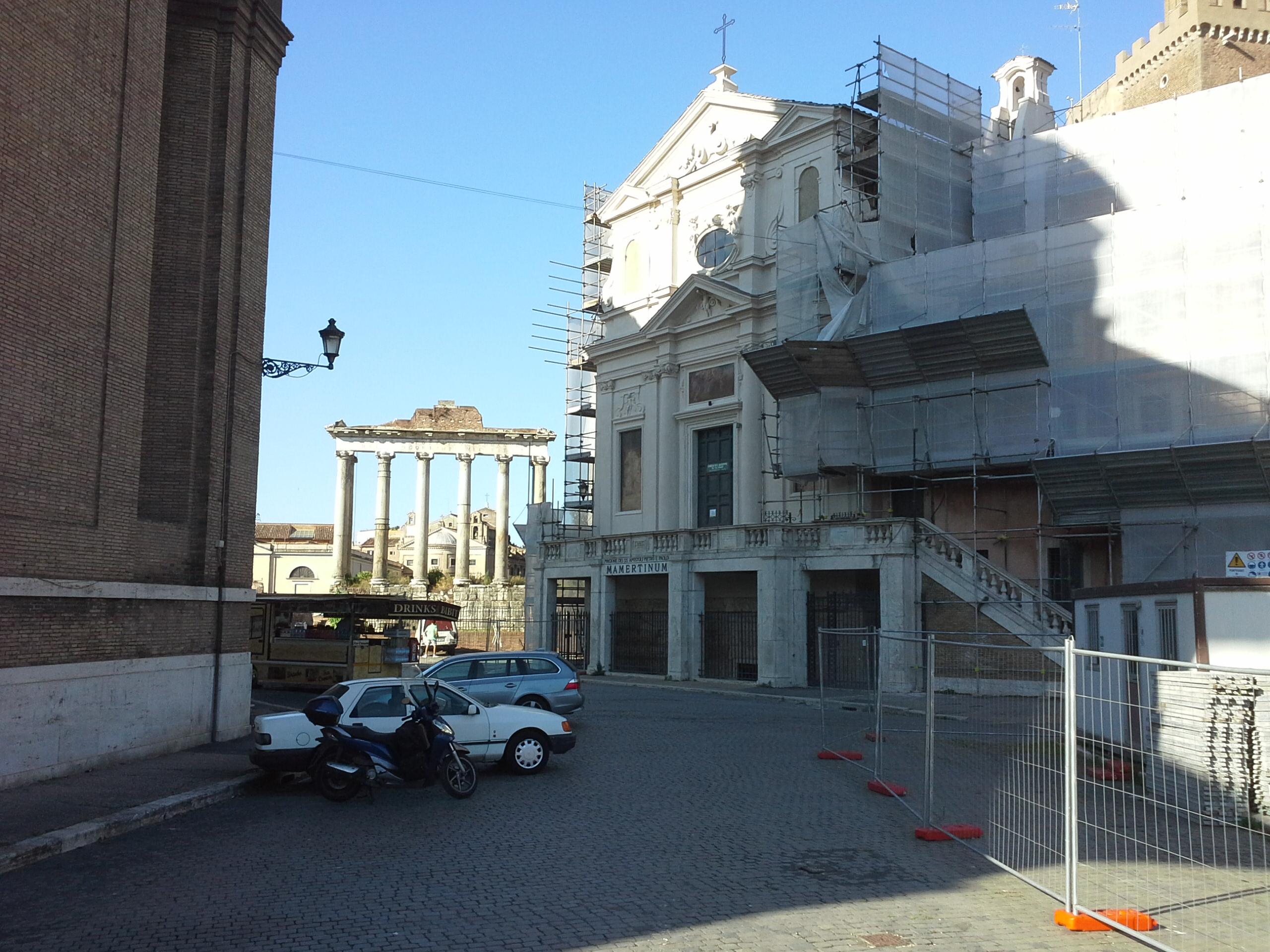 prisao do Apóstolo Pedro e Senado Romano